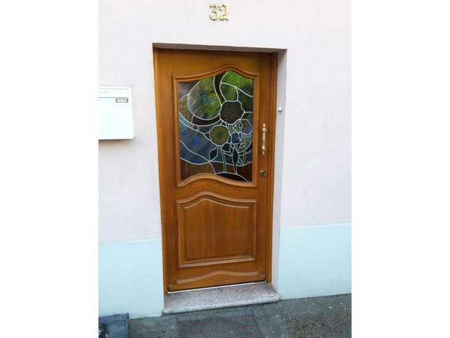 Vos portes int rieures et ext rieures menuiserie marchal - Porte d entree avec vitrail ...